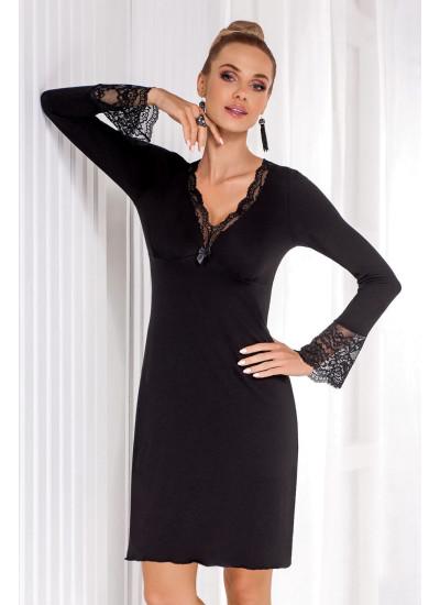Stella II nightdress Black