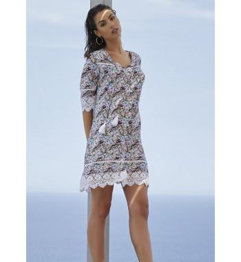 YM_85379 Платье пляжное