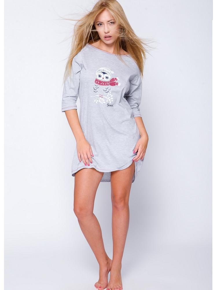 SNOWY OWL Сорочка женская