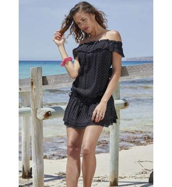 YM 85452 Платье пляжное