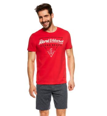 37201 JUMP Пижама с шортами мужская