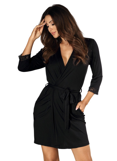 Халат Eleni dressing gown Black