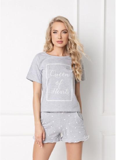 HEARTY GREY Пижама с шортами