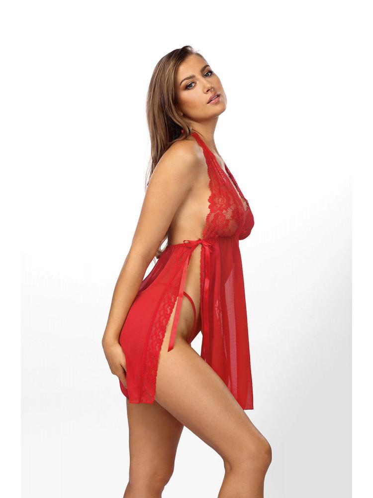 Красная эротическая сорочка Belinda