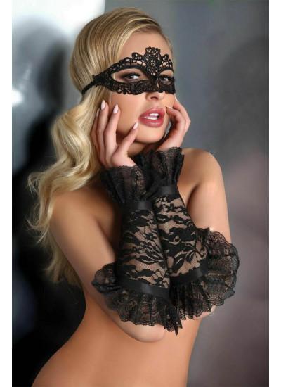 Перчатки LC 28011 gloves model 13 Black