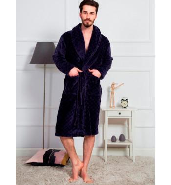 №160501 1054 Халат мужской Vienetta Soft длинный