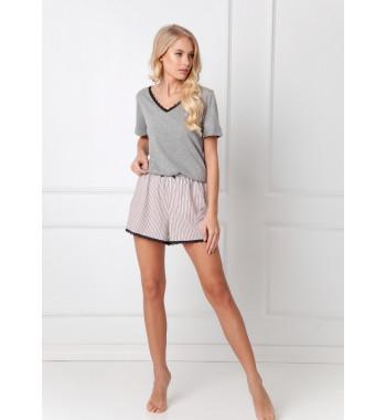 GWEN DARK GREY Пижама с шортами