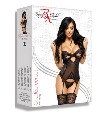 Эротический корсет Charlize corset