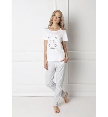CATWOMAN WHITE Пижама со штанами