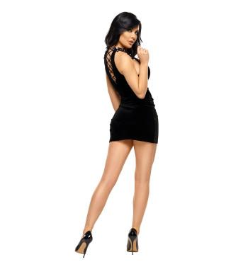 Роскошная велюровая сорочка Solange dress