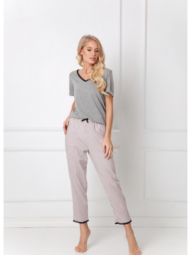 GWEN DARK GREY Пижама со штанами