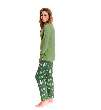 Молодежная пижама PM.9506 Green зеленого цвета