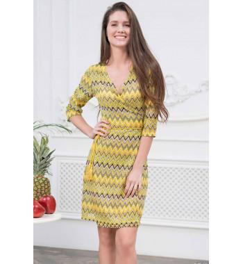 Платье c запахом Mia-Amore 8243