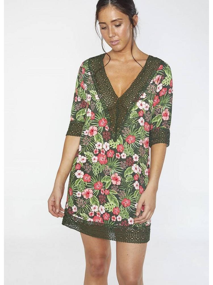85682 Платье пляжное