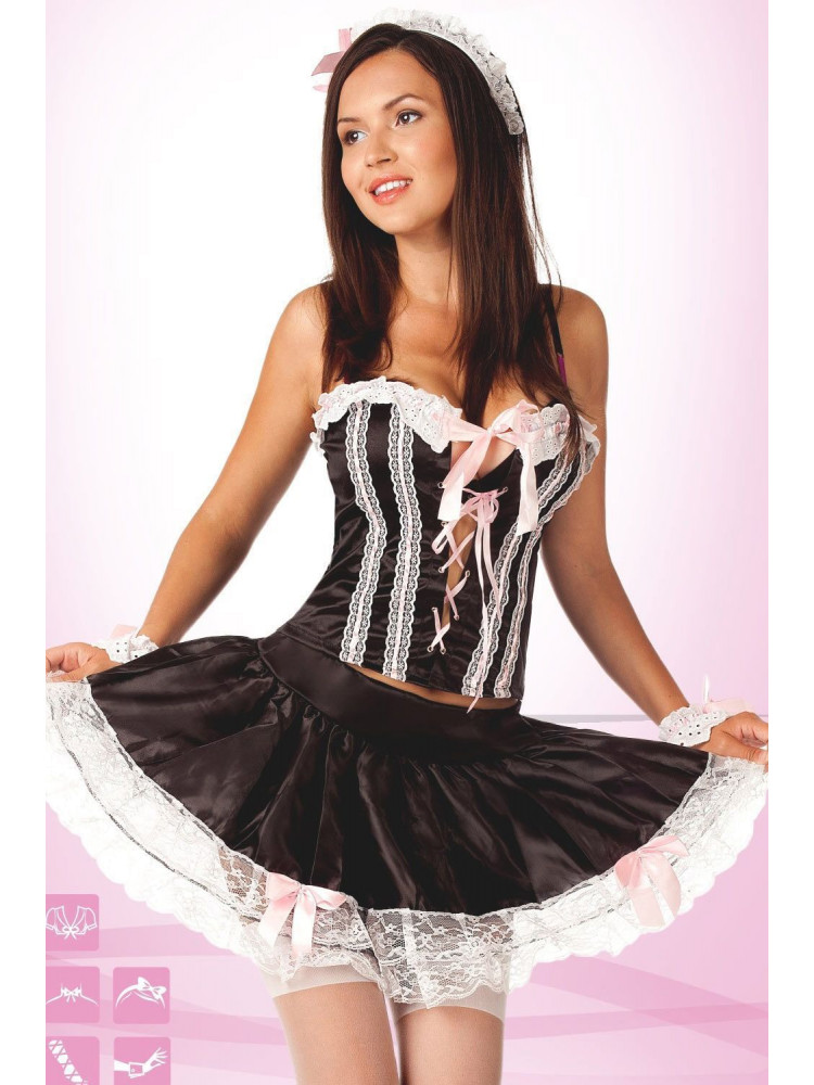 Костюм служанки 02157 maid