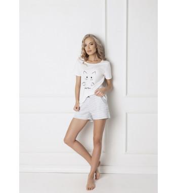 CATWOMAN WHITE Пижама с шортами