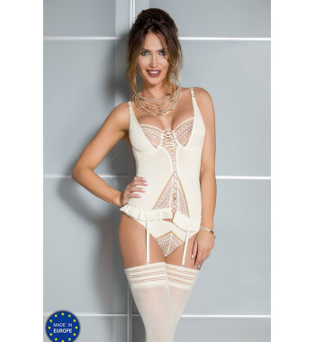 04305 Connie corset Cream