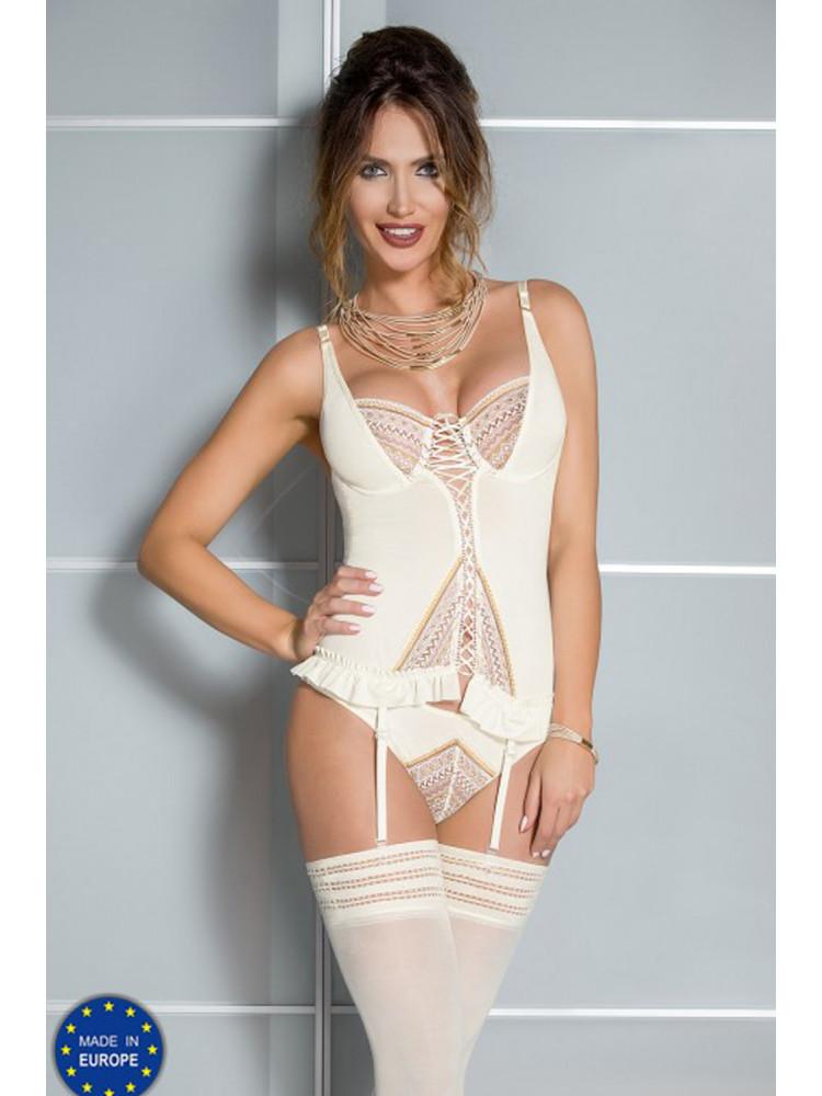 04305 Connie corset Cream