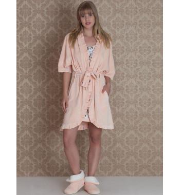 Комплект из халата и сорочки Browni Set 17029