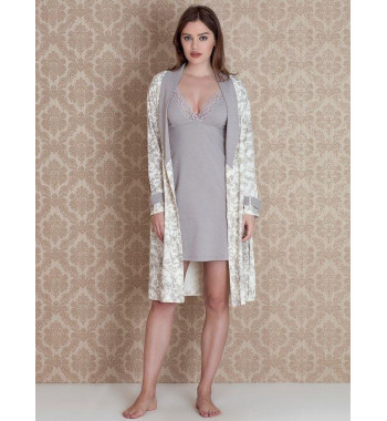 Комплект из халата и сорочки Bloom Set 17073
