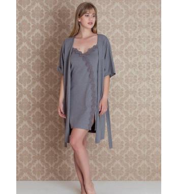 Комплект из халата и сорочки Tica Set 17111