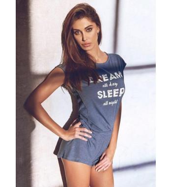 Комплект из футболки и шорт Jadea 3059