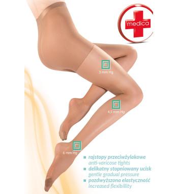 Телесные колготки с антицеллюлитным действием 111 Medica Relax 40 den Neutro