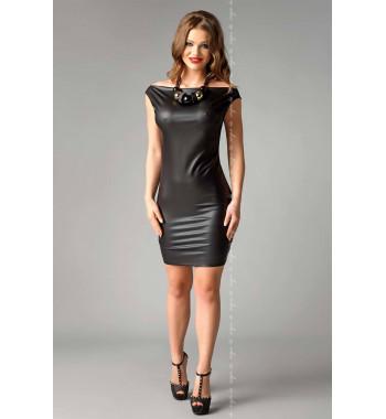 Платье из эко-кожи Joline