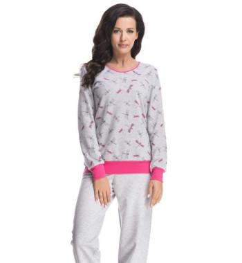 Пижама PD.8066 Grey Melange
