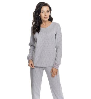 Пижама PD.8070 Grey Melange